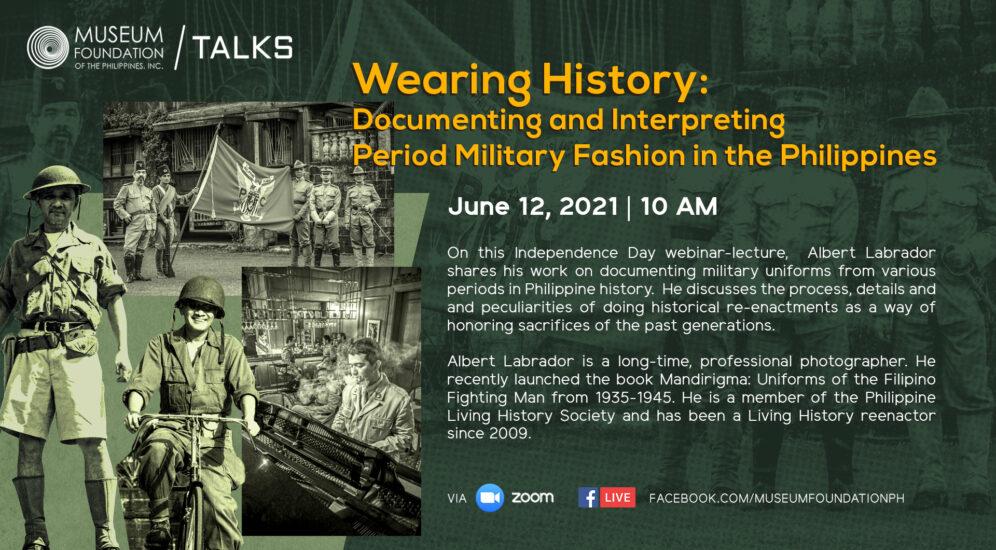 Webinar - Wearing History